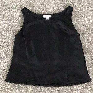 Fully lined sleeveless top